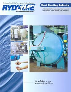 Heat Treating Industry - Apex Engineering Products Corporation