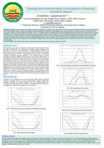 Heating and Cooling Energy Consumption of ...