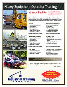 Heavy Equipment Parts Network - The Supplier's Guide