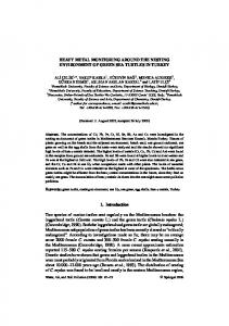 HEAVY METAL MONITORING AROUND THE ... - Springer Link