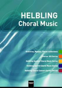 helbling choral music