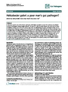 Helicobacter pylori - BioMedSearch