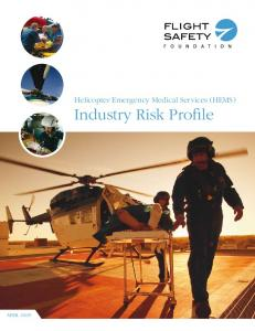 Helicopter Emergency Medical Services Industry Risk Profile