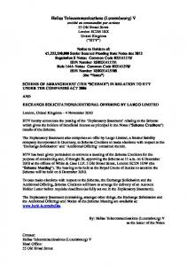 Hellas Telecommunications (Luxembourg) V - Notice of ... - Wind
