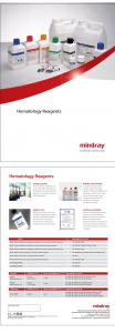 Hematology Reagents Hematology Reagents - BrandSD
