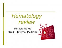 Hematology review