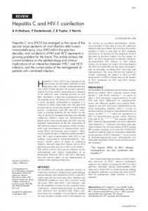 Hepatitis C and HIV-1 coinfection - Gut