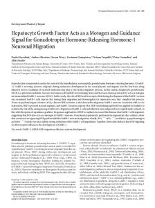 Hepatocyte Growth Factor Acts as a Motogen and ... - Semantic Scholar