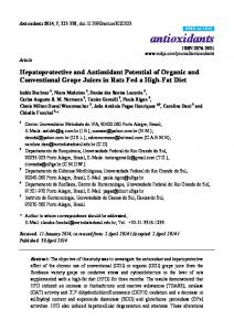Hepatoprotective and Antioxidant Potential of ... - Semantic Scholar