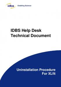 here - IDBS Customer Support