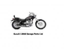 Here is the 2001 LS650 Parts List - TORNBJERG Maine Coon