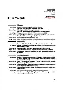 here - Luis Vicente