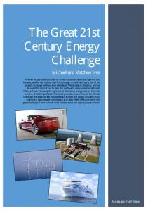 here - The Great 21st Century Energy Challenge