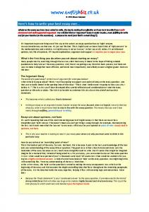 dulce et decorum est how to structure your essay com here s how to write your best essay ever englishbiz