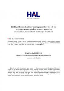 HERO - Archive ouverte HAL