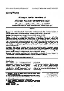 Herpes Simplex Masquerade Syndrome - Iranian Journal of ...