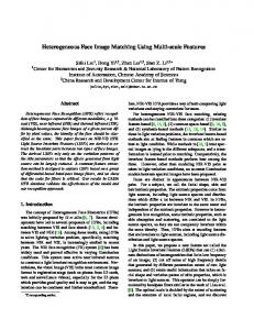 Heterogeneous Face Image Matching Using Multi-scale Features