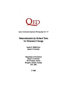 Heteroskedasticity-Robust Tests for Structural Change - Core