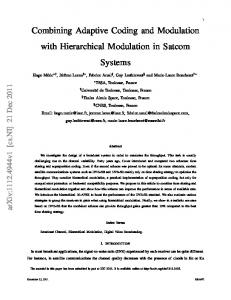 hierarchical modulation - Semantic Scholar