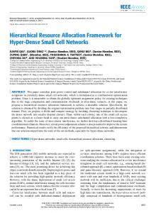 Hierarchical Resource Allocation Framework for Hyper ... - IEEE Xplore