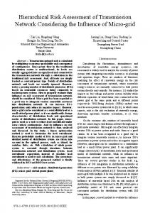 Hierarchical Risk Assessment of Transmission Network ... - IEEE Xplore