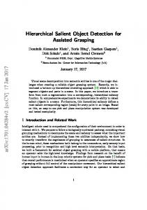 Hierarchical Salient Object Detection for Assisted Grasping - arXiv