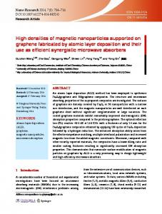 High densities of magnetic nanoparticles supported on ... - Springer Link