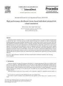 High performance distributed cluster-based ... - Semantic Scholar