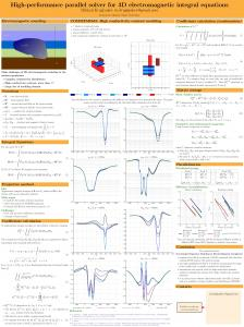 High-performance parallel solver for 3D ...