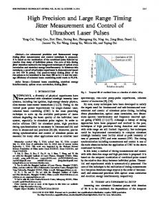 High Precision and Large Range Timing Jitter ... - IEEE Xplore