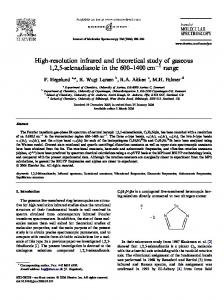 High-resolution infrared and theoretical study of