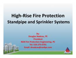 High-Rise Fire Protection g