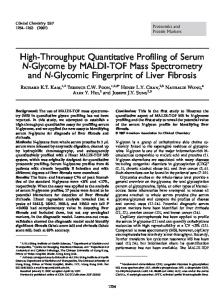 High-Throughput Quantitative Profiling of Serum N ... - Clinical Chemistry