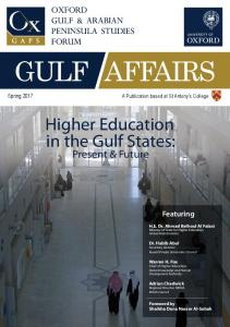 Higher Education in the Gulf States - OxGAPS