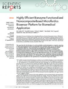 Highly Efficient Bienzyme Functionalized ... - BioMedSearch