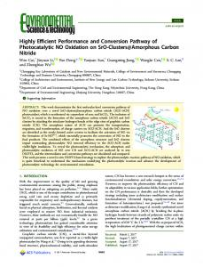 Highly Efficient Performance and Conversion ... - ACS Publications