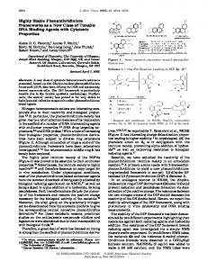 Highly Stable Phenanthridinium Frameworks as a New Class of ...