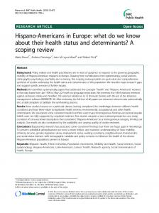 Hispano-Americans in Europe