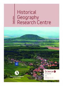 Historical Geography Research Centre