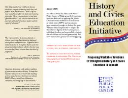 History and Civics Education Initiative - Ethics and Public Policy ...