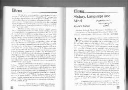 History, Language and - PhilArchive