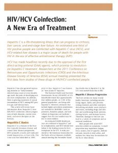 HIV/HCV Coinfection: A New Era of Treatment