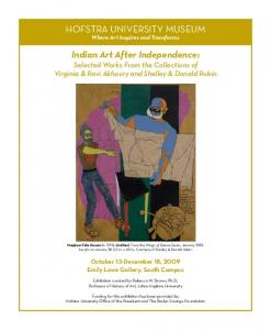 HOFSTRA UNIVERSITY MUSEUM Indian Art After Independence: