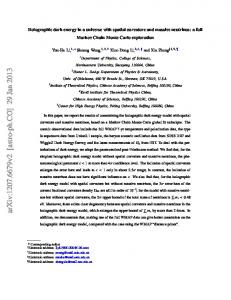 Holographic dark energy in a universe with spatial curvature and ...