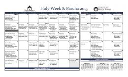 Holy Week & Pascha 2013 - Holy Trinity Orthodox Church