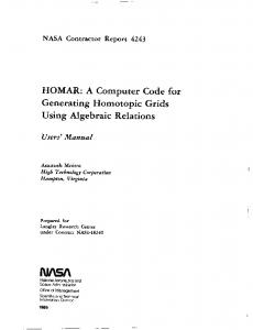HOMAR - NASA Technical Reports Server (NTRS)