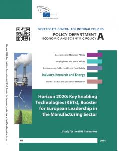 Horizon 2020: Key Enabling Technologies - European Parliament