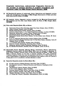 Hospitals - State Diploma Engineers Association, West Bengal ...