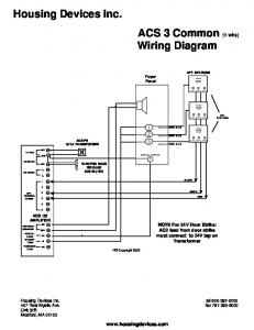 Housing Devices Wiring Diagram on 4 wire mobile home wiring diagram