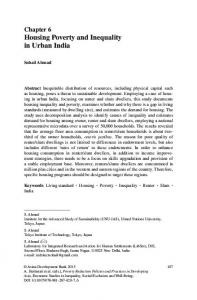 Housing Poverty and Inequality in Urban India - Springer Link